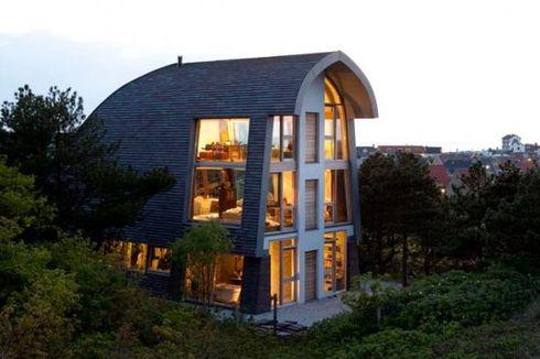 Rumah Unik Bergelimang Cahaya Matahari