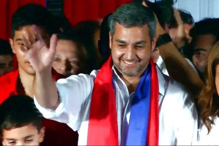 Presiden terpilih baru Paraguay, Mario Abdo Benitez.