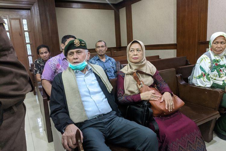 Kivlan Zen batal menjadi saksi Terdakwa Azwarmi di Pengadilan Negeri Jakarta Pusat, Rabu (5/2/2020)
