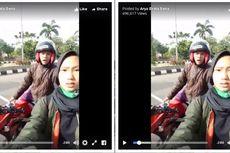 Gantian, Polisi Rekam Pengendara yang Marah Saat Ditilang
