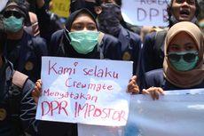 Demo Tolak Omnibus Law di Magelang, Mahasiswa Samakan DPR dengan Impostor