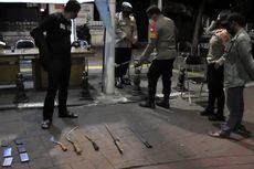 Polisi Gagalkan Rencana Tawuran di Kebayoran Baru, 3 Remaja Ditangkap Barbuk Pedang dan Celurit