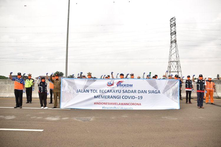Direktur Teknik dan Operasi KKDM Ayuda Prihantoro mengatakan, kegiatan tersebut dilakukan untuk memastikan tanggap darurat dan penanganan terhadap pengguna jalan tol yang mengalami gejala sakit.