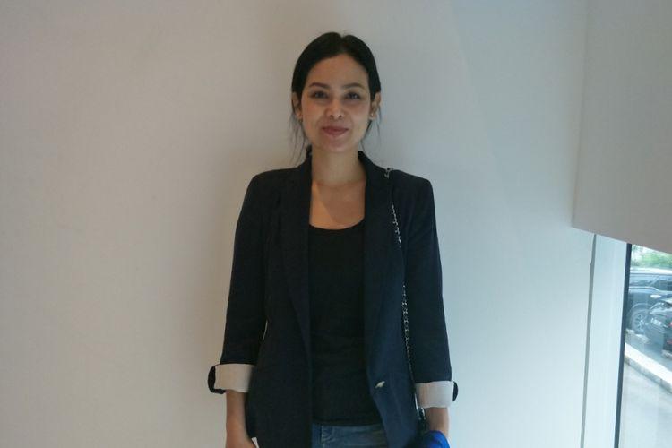 Sheila Timothy, produser film Wiro Sableng, saat ditemui di JS Luwansa, Jakarta Selatan, Kamis (3/5/2018).