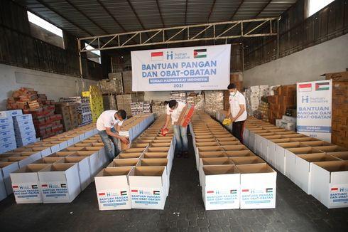 Peduli Warga Palestina, Human Initiative Salurkan Bantuan Kemanusiaan di Jalur Gaza