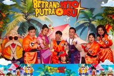 Rayakan Ulang Tahun, Betrand Peto dan Keluarga Kompak Pakai Kostum Dragon Ball