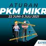 PPKM Jakarta Diperketat: Dine-in sampai Jam 20.00 WIB hingga Kapasitas Tamu Pernikahan Dibatasi