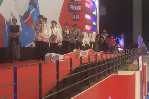 Tim Korea Bersatu Naik Podium di Cabang Para-renang