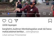 Video Viral Wakil Bupati Garut Mengadu Layangan dan Kalah