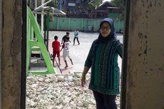 Tembok Antara SMKN 35 Jakarta dengan Gedung P2KPTK2 Sudah Dijebol
