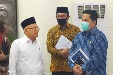 Kepada Ridwan Kamil, Wapres Sebut Jawa Barat Bisa Jadi Kawasan Industri Halal