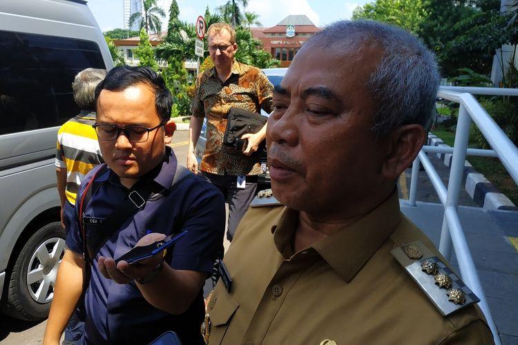 Wali Kota Bekasi, Rahmat Effendi, Selasa (28/1/2020).