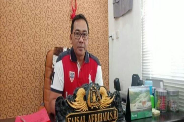 Kasat Reskrim Polres Sumbawa, Iptu Faisal Afrihadi