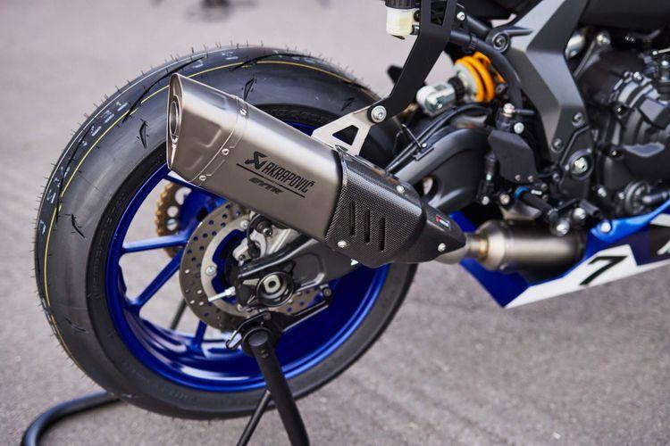Yamaha YZF-R7 yang dilengkapi Genuine Yamaha Technology Racing (GYTR).