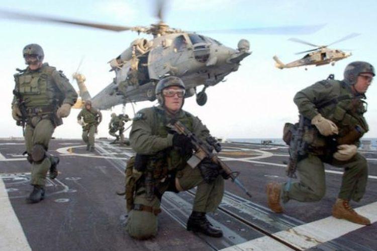 Pasukan khusus AS, Navy SEALs.