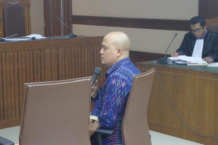 Politisi Partai Demokrat I Putu Sudiartana diperiksa sebagai terdakwa di Pengadilan Tipikor Jakarta, Senin (30/1/2017).