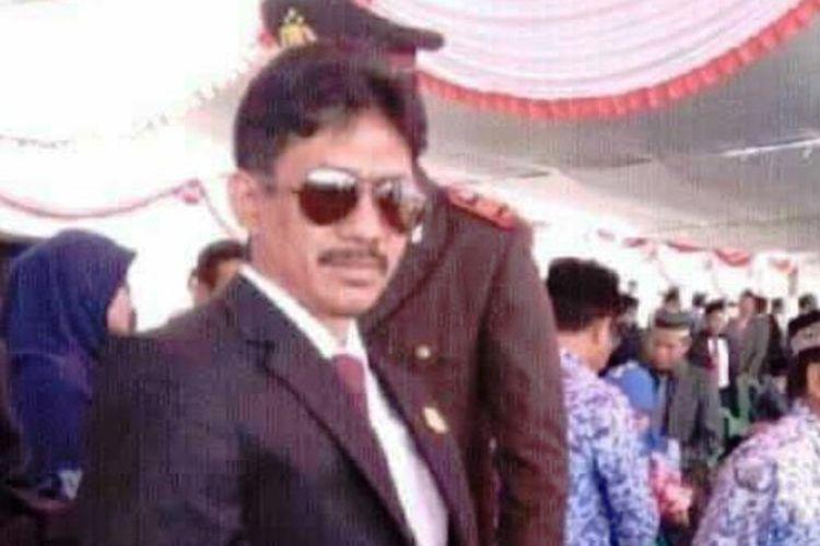 Ketua DPC Hanura Kabupaten Bima, Ahmad Dahlan.