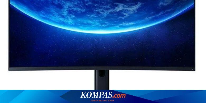Monitor Gaming Xiaomi Meluncur di Indonesia, Punya Layar Melengkung 34 Inci - Tekno Kompas.com