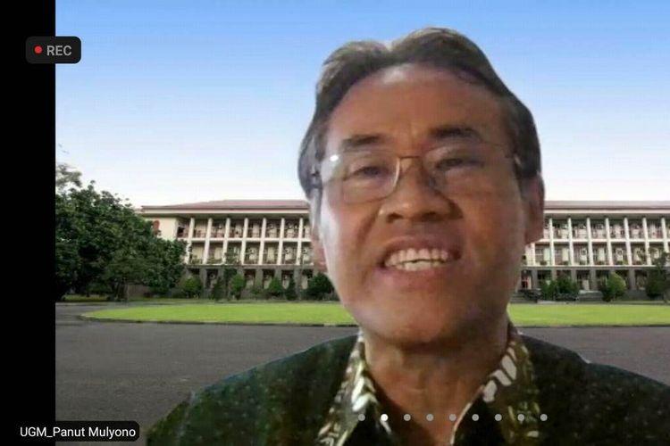 Rektor Universitas Gadjah Mada (UGM) Prof. Ir. Panut Mulyono, M.Eng., D.Eng., IPU, ASEAN Eng.