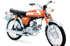 Mengenal Suzuki A100, Motor Jadul Peliharaan Gofar Hilman