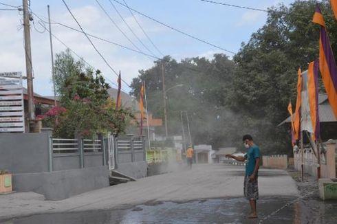 Gunung Gamalama Meletus, Sebagian Kota Ternate Tertutup Abu Vulkanik