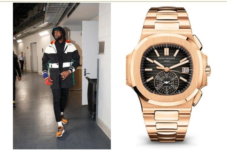 LeBron James dengan Jam Tangan Patek Philippe Nautilus