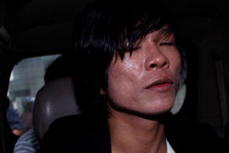 Andika Mahesa Setiawan, mantan vokalis Kangen Band, di Jakarta pada 2011