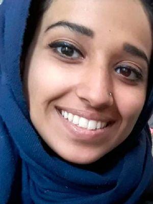 Hoda Muthana, perempuan asal Alabama, Amerika Serikat, yang bergabung dengan ISIS di Suriah. (AFP)