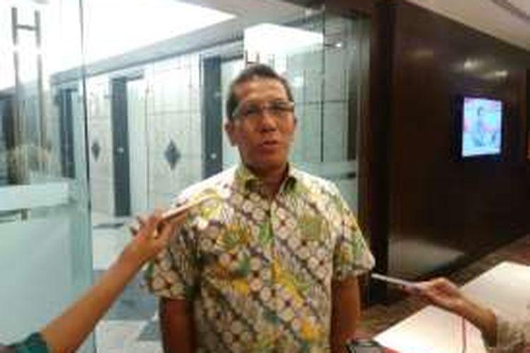 Direktur Penilaian Perusahaan PT Bursa Efek Indonesia Samsul Hidayat