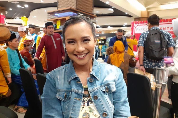 Shahnaz Haque saat ditemui di Mal Bintaro X-change, Tangerang Selatan, Kamis (23/1/2020).