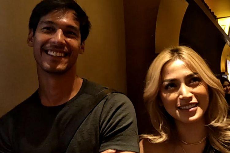 Richard Kyle dan Jessica Iskandar ditemui setelah premier film Mile 22 di XXI Plaza Senayan, Jakarta Selatan, Senin (20/8/2018) malam.