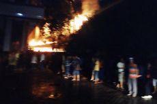 Kantor Dispenda dan Samsat Medan Terbakar
