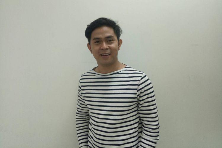 Cakra Khan saat berkunjungbke redaksi Kompas.com di Gedung Kompas Gramedia, Palmerah Barat, Jakarta Pusat, Junat (2/3/2018).