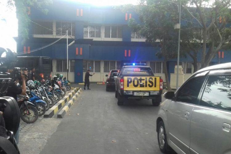 Rombongan K9 dan alat Sonar tiba di Kanwil DJBC Khusus Kepri.