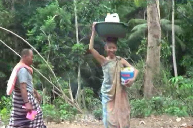 7 Bulan Tak Kunjung Hujan, Warga Selayar Andalkan Sumur Jodoh di Pegunungan