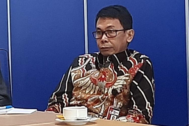 Wakil Ketua KPK Nawawi Pomolango saat berkunjung ke Menara Kompas, Kamis (27/2/2020).