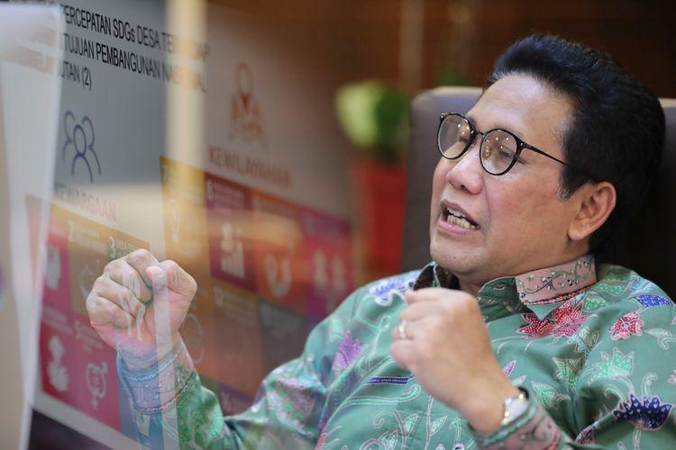 Menteri Desa, Pembangunan Daerah Tertinggal, dan Transmigrasi, Abdul Halim Iskandar hadir menjadi narasumber secara virtual dalam Kegiatan Pelepasan KKN dan Kuliah Umum Tahun 2021 Universitas Islam Negeri (UIN) Syarif Jakarta pada Kamis (1/7/2021).