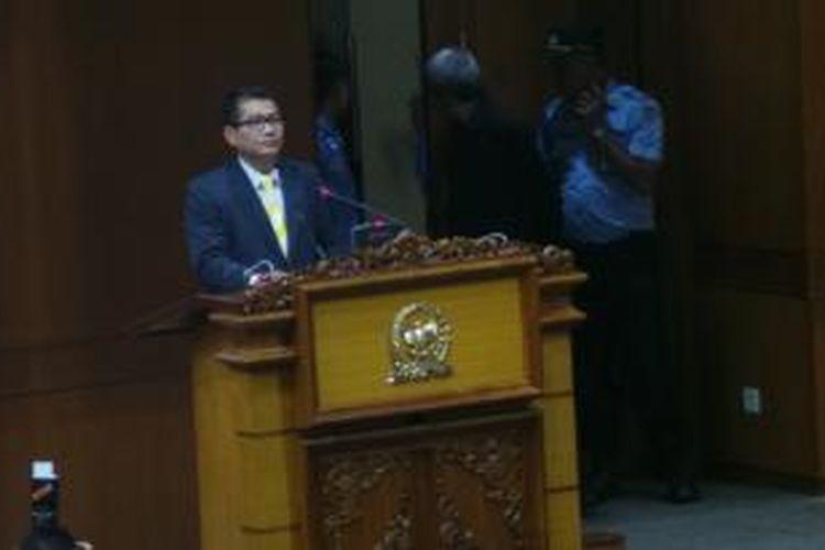Ketua Komisi II DPR Agun Gunanjar Sudarsa