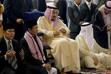 Raja Salman Disambut Imam Besar Masjid Istiqlal dan Presiden Jokowi