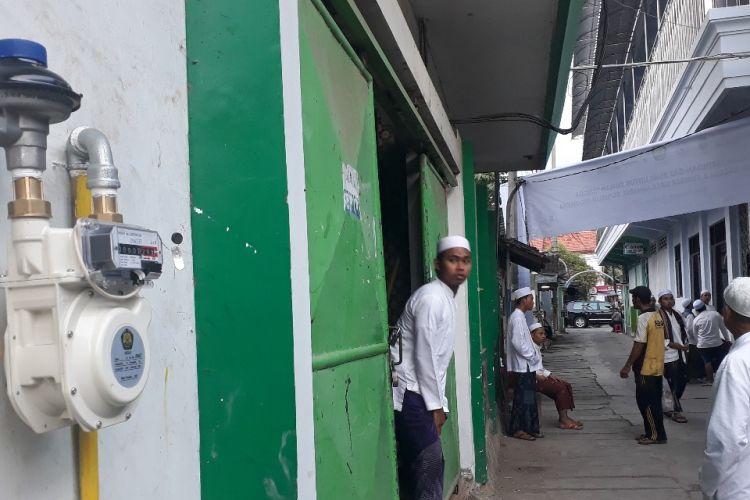 Meteran Jargas di komplek pesantren Assalafiyah Kota Pasuruan Jawa Timur