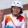 Skater Jepang Umur 13 Tahun Cetak Sejarah di Olimpiade Tokyo