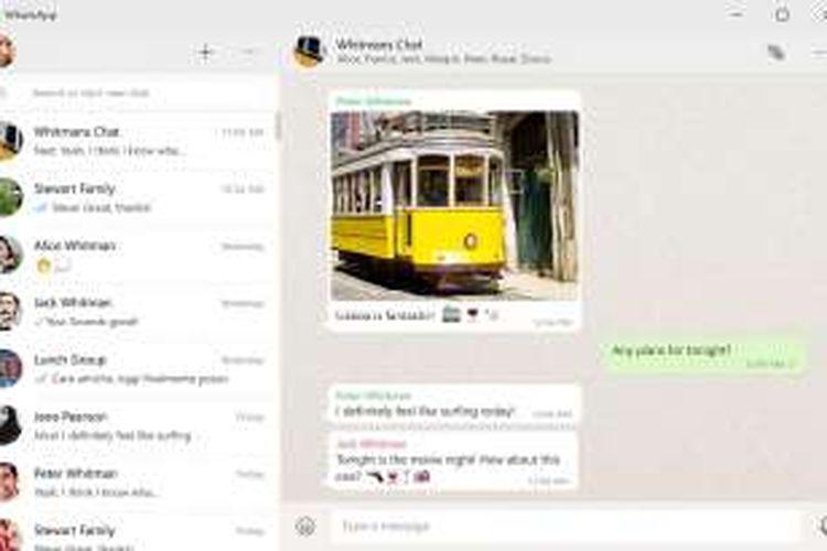 WhatsApp luncurkan aplikasi desktop untuk Windows dan Mac