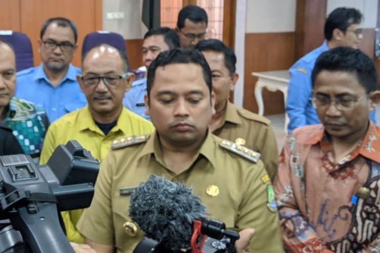 Wali Kota Tangerang Arief Wismansyah saat ditemui di Pendopo Kabupaten Tangerang Kawasan Pasar Lama Kota Tangerang, Selasa (25/2/2020)