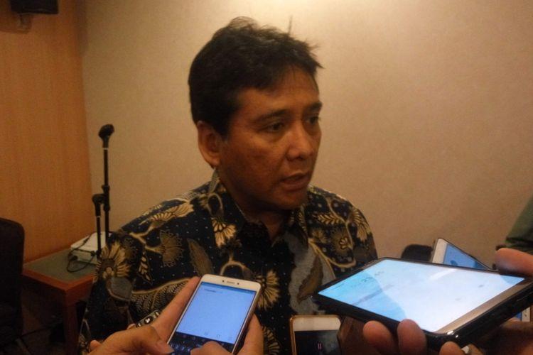 Ketua Umum Apindo, Hariyadi Sukamdani di Jakarta, Rabu (5/12/2018).