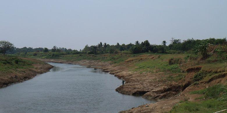 Salah satu sudut Sungai Citarum yang pernah jadi tempat berdirinya Rumah Sejarah Djiauw Kie Siong sebelum dipindahkan sekitar tahun 19657.