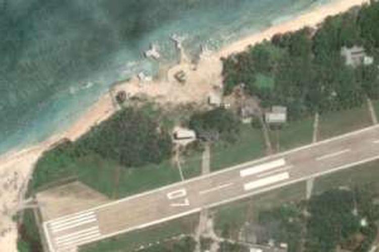 Pemerintah Taiwan meminta Google mengaburkan gambar satelit pulau Itu Aba