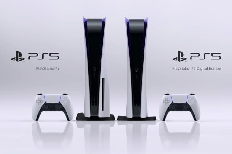 Kiri-kanan: PS 5 dan PS5 Digital Edition