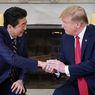 Eks PM Jepang, Shinzo Abe Doakan Trump yang Positif Covid-19