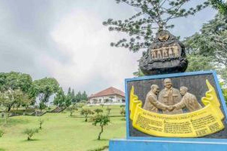 Gedung Perundingan Linggarjati di Kecamatan Cilimus, Kabupaten Kuningan, Jawa Barat.