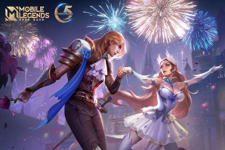 Mobile Legends: Bang Bang (MLBB) bersiap untuk merayakan ulang tahunnya yang kelima pada bulan Oktober 2021 ini.